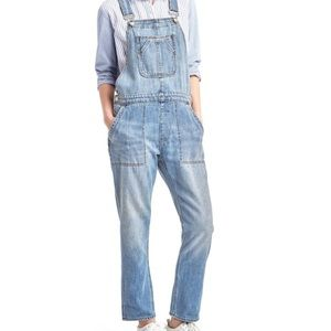 Gap Slouchy Relaxed Fit Overalls